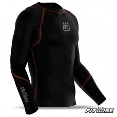 Men's compression base layer shirt