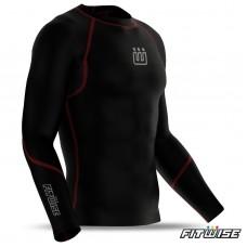 Men's compression base layer shirt
